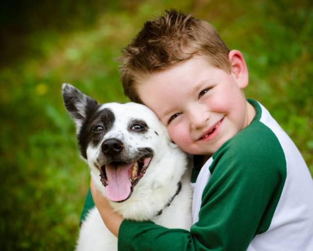 Foto I cani amano i bambini