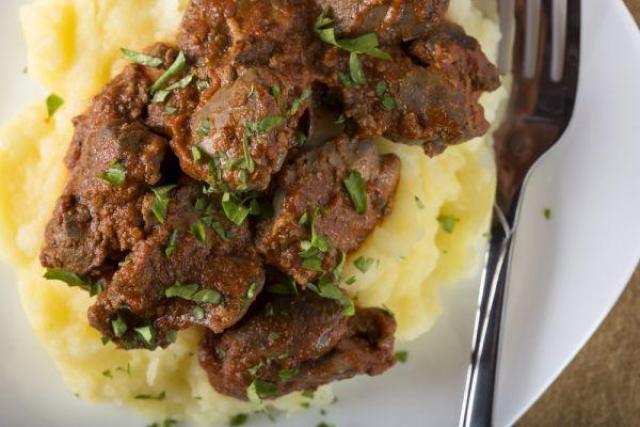 cane ricetta manzo con patate