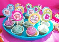 festeggiare cane dolci
