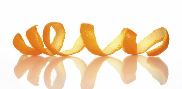 buccia arancia coniglio