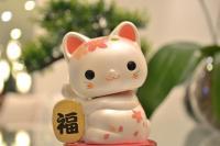 Foto Maneki Neko: il gatto della fortuna