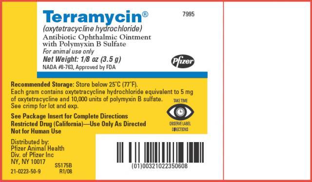 Foto Ossitetraciclina (Terramycin®, Liquamycin®) - Farmaci per cani e gatti