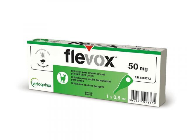 flevox fipronil gatto