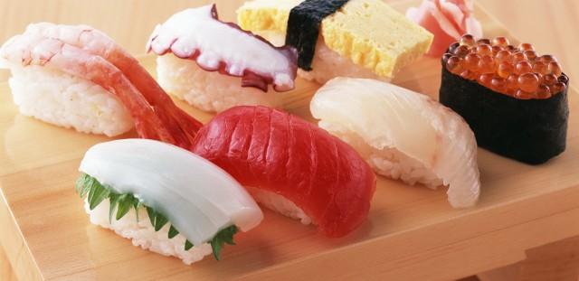sushi al cane