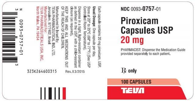 Foto Piroxicam - Farmaci per cani e gatti