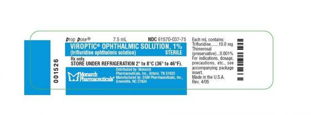 Foto Trifluridina (Viroptic) - Farmaci per i Gatti
