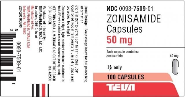 Foto Zonisamide (Zonegran) - Farmaci per Cani e Gatti