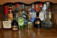 foto alcol tossico cane