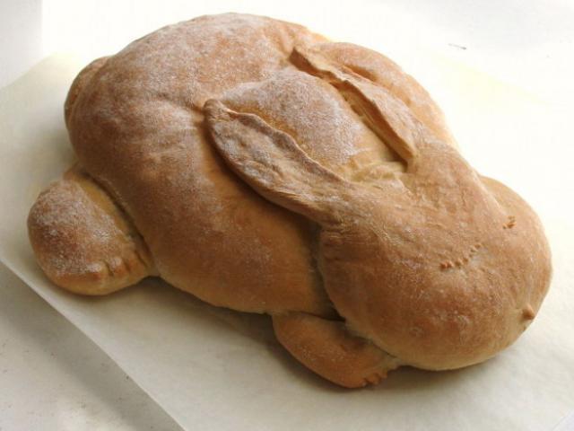 Foto Il Coniglio può mangiare pane?